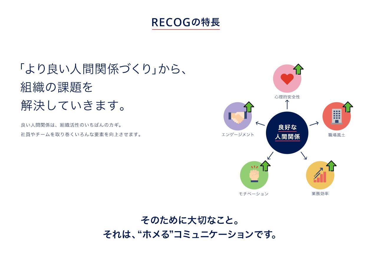 RECOGの特徴